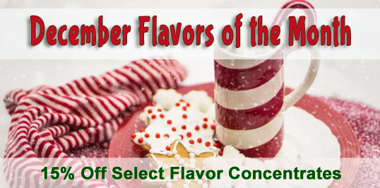 October Flavors of the Month Sale