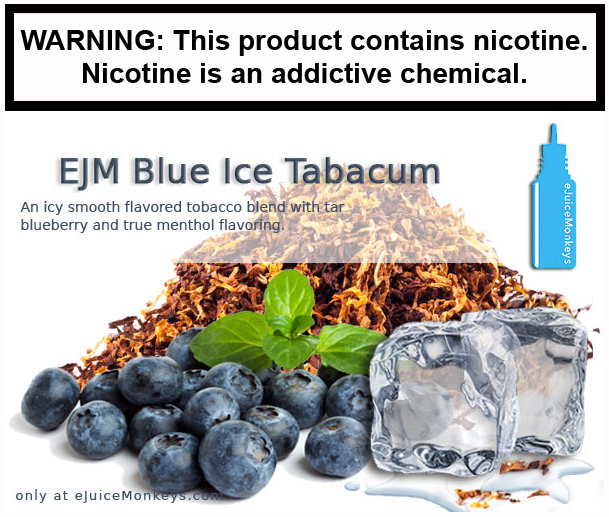 EJM Blue Ice Tabacum